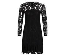 Damen-Kleid aus Spitze schwarz
