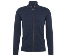 knit Strick-Cardigan blau