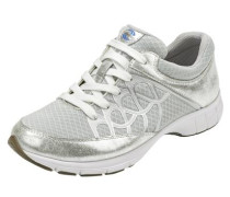 Sneaker grau / silber