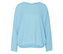 Blusenshirt 'Mains' aus Viskose hellblau