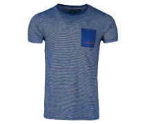 T-Shirt 'Warren' blau