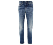 Scube Relaxed: Stretchjeans blue denim