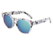 Sonnenbrille 'High Emotion' blau / weiß
