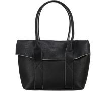 'Leslie' Handtasche schwarz