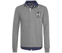 Sweatshirt »Terence Rugby L/S VF« silbergrau