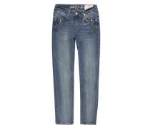 Hose Jeans Girls Skinny Slim Mädchen Kinder blue denim