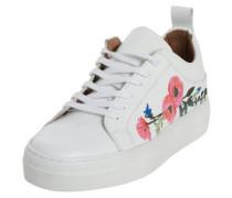 Weißer Sneaker weiß