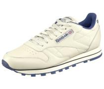 Leather W Sneaker weiß
