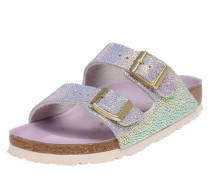 Sandale 'Arizona' lila / silber