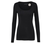 Basic Shirt 'selima' schwarz