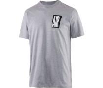 Retro Air Printshirt grau