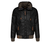Jacke 'Free Men We Are II' schwarz