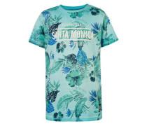 T-Shirt Norman für Jungen Aloha türkis