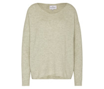 Oversized Pullover 'Mille' hellgrün