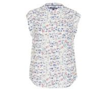 Bluse mit Print 'nalani' weiß / mischfarben