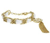 Armband 'ufb30804' gold / weiß
