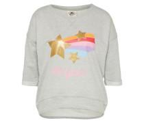 Sweatshirt 'Shooting Star Loose Fit' grau / mischfarben