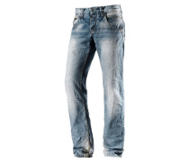 HaroldTZ Straight Fit Jeans blau