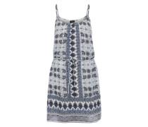 Kleid 'VITile' blau / weiß