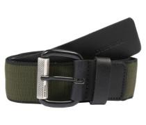 Gürtel 'b-Sport' grün / schwarz