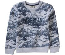 Sweatshirt blau / grau