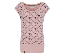 T-Shirt 'Wolle' pink