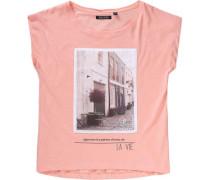T-Shirt für Mädchen melone