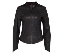 Lederjacke 'Hollywood' schwarz