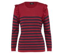 Pullover 'onlCATJA' rot / schwarz