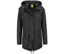 Parka Gstaad Wool anthrazit