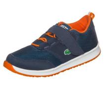 'L.ight Sneaker' Kinder navy / neonorange