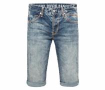 Skater Jeans Shorts Ro:bi mit Kontrastnähten