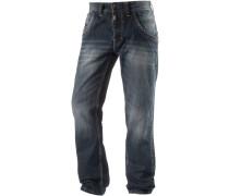 EliazTZ Straight Fit Jeans Herren blau