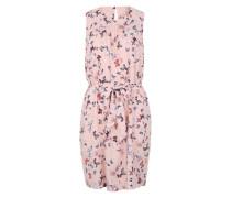 Sommerkleid mit Allover-Print navy / rosé