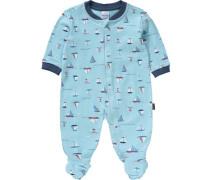 Baby Schlafanzug blau / hellblau