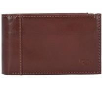 'Bern' Geldbörse Leder 105 cm braun / schoko