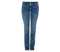 Shape Slim: Jeans mit Rosé-Knöpfen blue denim