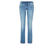 'Venus' Straight Leg Jeans blau