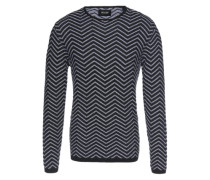 Pullover 'daly Crew Neck Knit' schwarz