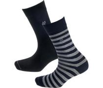 Svea 2 Paar Socken blau