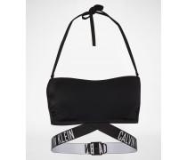 Bikini-Top mit Label-Bund