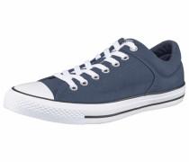 'High Street' Sneakers taubenblau / weiß