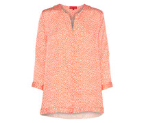 Bluse 'Enyma' orange / weiß