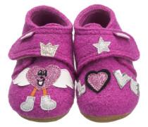 Baby Hausschuhe für Mädchen pink