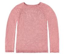 Junior Pullover Washed-Out-Optik Mädchen Kinder rosa