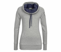 Sweatshirt dunkelblau / hellgrau