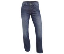 Straight Leg Jeans 'Antonio' dunkelblau