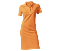 Polokleid orange