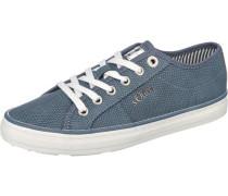 Sneakers 'Regan' rauchblau / weiß