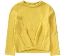 Pullover für Mädchen gelb